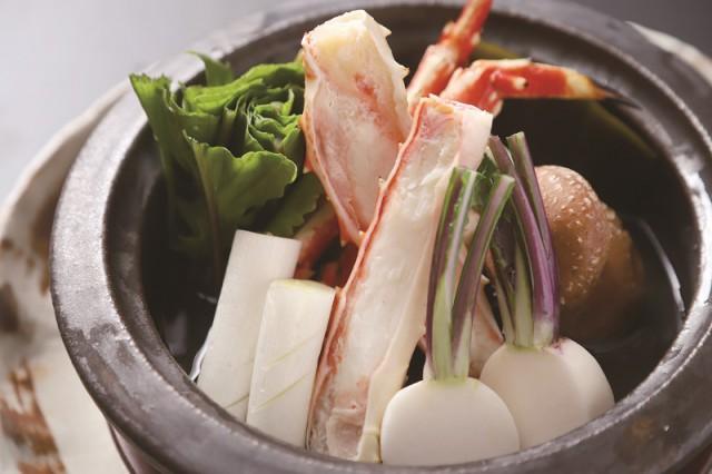 タラバ蟹の酒蒸し6,000円