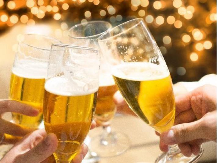 <終了>【新春乾杯】新年を愉しくスタート!飲み放題90分付きプラン登場