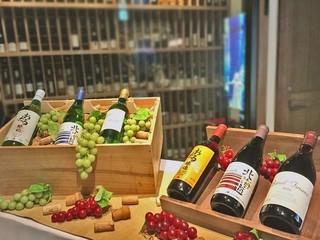 <終了>【北海道ワイン6種類】お得なワイン飲み放題90分付きプラン登場