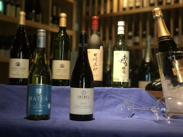 <終了>【ワインと一緒に愉しむ】北海道ワイン&ソムリエ厳選ワイン飲み放題90分付きプラン登場