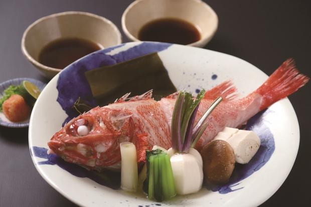 キンキの湯煮8,000円