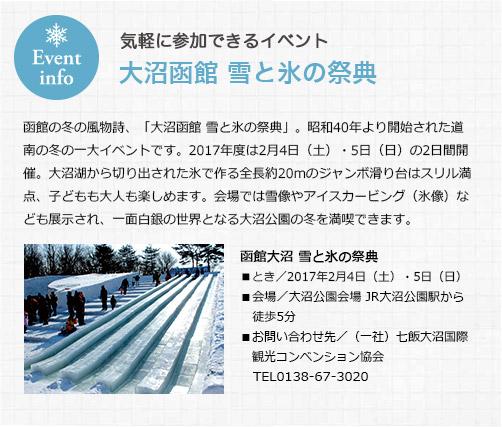 雪と氷のテーマパーク 冬遊びの宝庫・大沼