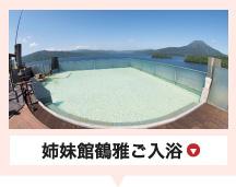 遊久の里鶴雅ご入浴