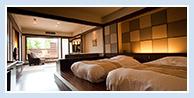 露天風呂付和洋室